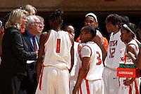 SAN ANTONIO , TX - DECEMBER 30, 2009: The Louisiana Tech University Lady Techsters vs. The University of Texas At San Antonio Roadrunners Women's Basketball at the UTSA Convocation Center. (Photo by Jeff Huehn)