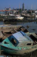 Europe/France/Pays de la Loire/85/Vendée/Ile de Noirmoutier/Noirmoutier-en-l'Ile: Le cimetière à bateaux
