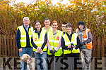 Tidy together<br /> -----------------<br /> Killorglin tidy town volunteers stand in front of the enormous Japanese knotweed in the town centre last Saturday morning before they go about their tasks, L-R Brendan Foley, chairman of the KTT, Irene Schmahl, James Daly, Vicechairman KTT, Olivia Dunne, Ethan Dean Hughes, Mary Mcgillicuddy and Timothy Dignam.