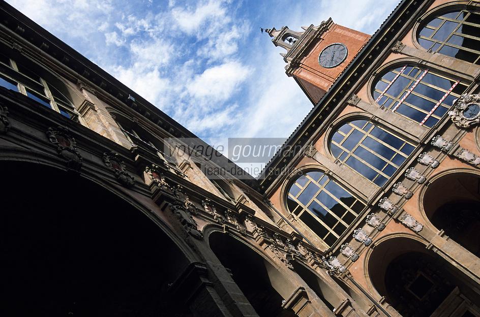 Europe/Italie/Emilie-Romagne/Bologne : Palais de l'ArchiginnasioXVI° siècle