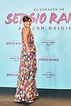 Helena Sanchez in the world preview of EL CORAZÓN DE SERGIO RAMOS, documentary series about the life of the captain of Real Madrid and the Spanish Soccer Team, at the Reina Sofía Museum on September 10, 2019 in Madrid, Spain.<br />  (ALTERPHOTOS/Yurena Paniagua)