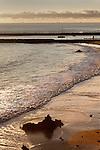 Beach at Dusk, Corona del Mar, CA.