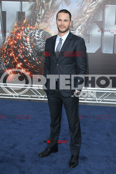Taylor Kitsch at the film premiere of 'Battleship,' at the NOKIA Theatre at L.A. LIVE in Los Angeles, California. May, 10, 2012. © mpi20/MediaPunch Inc.
