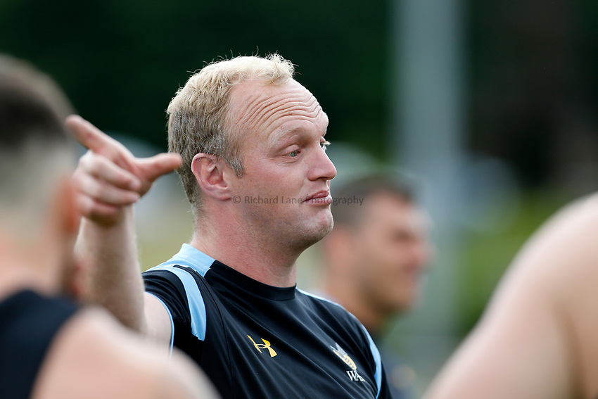 Photo: Richard Lane Photography. Wasps Training. 10/07/2017. Wasps' coach, Lee Blackett.