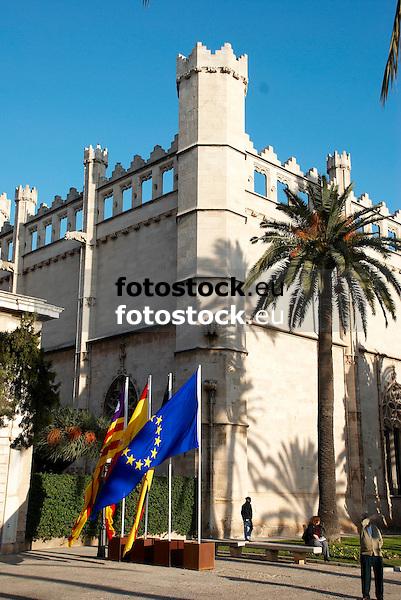 La Lonja in gothic style (1426-1447) by architect Guillermo Sagrera<br /> <br /> La Lonja (cat.: Sa Llotja) de estilo g&oacute;tico (1426-1447) por el arquitecto Gullermo Sagrera<br /> <br /> Handelsb&ouml;rse La Lonja im gotischen Stil (1426-1447) von dem Architekten Guillermo Sagrera