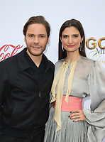 WEST HOLLYWOOD, CA - JANUARY 5: Daniel Bruhl, Felicitas Rombold, at the 6th Annual Gold Meets Golden Brunch at The House on Sunset in West Hollywood, California on January 5, 2019. <br /> CAP/MPI/FS<br /> &copy;FS/MPI/Capital Pictures