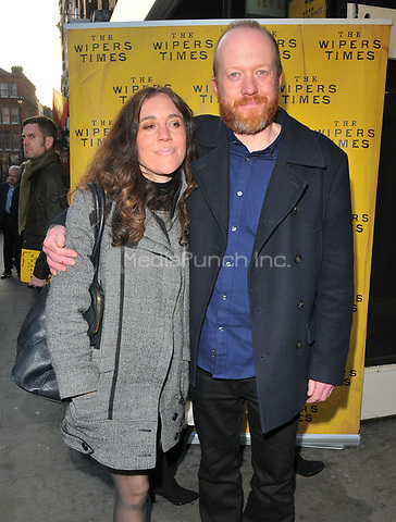 guest and Steve Oram at the &quot;The Wipers Times&quot; press night, The Arts Theatre, Great Newport Street, London, England, UK, on Monday 27 March 2017.<br /> CAP/CAN<br /> &copy;CAN/Capital Pictures /MediaPunch ***NORTH AND SOUTH AMERICAS ONLY***