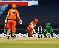 2nd November 2019; Western Australia Cricket Association Ground, Perth, Western Australia, Australia; Womens Big Bash League Cricket, Perth Scorchers versus Melbourne Stars; Nicole Bolton of the Perth Scorchers hits out during her innings - Editorial Use