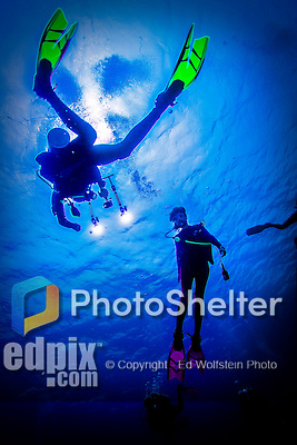 9 June 2015: SCUBA Diver Josh Wolfstein uses a GoPro camera to capture images of the coral reef at Spanish Bay Reef, on the North Shore of Grand Cayman Island. Located in the British West Indies in the Caribbean, the Cayman Islands are renowned for excellent scuba diving, snorkeling, beaches and banking.  Mandatory Credit: Ed Wolfstein Photo *** RAW (NEF) Image File Available ***