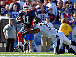 21 October 2007: Buffalo Bills wide receiver Roscoe Parrish in action against the Baltimore Ravens at Ralph Wilson Stadium in Orchard Park, NY. The Bills defeated the Ravens 19-14 in front of 70,727 fans marking their second win of the 2007 season...Mandatory Photo Credit: Ed Wolfstein Photo