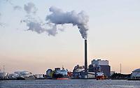 Nederland - Amsterdam - 2019. Nuon centrale aan de Hemweg. Foto Berlinda van Dam / Hollandse Hoogte