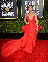 LOS ANGELES, USA. January 06, 2020: Scarlett Johansson arriving at the 2020 Golden Globe Awards at the Beverly Hilton Hotel.<br /> Picture: Paul Smith/Featureflash