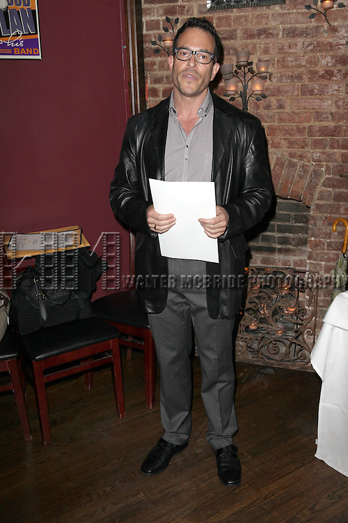 Michael Mayer.attending the New York Drama Critics' Circle Awards at Angus McIndoe in New York City on 5/14/2012.