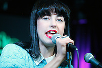 Kimbra visits Radio 104.5's iHeart Radio Performance Theater in Bala Cynwyd, Pa on June 14, 2012  © Star Shooter / MediaPunchInc NORTEPHOTO.COM<br />