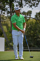 Gary Woodland  (USA) watches his tee shot on 2 during day 1 of the WGC Dell Match Play, at the Austin Country Club, Austin, Texas, USA. 3/27/2019.<br /> Picture: Golffile | Ken Murray<br /> <br /> <br /> All photo usage must carry mandatory copyright credit (© Golffile | Ken Murray)