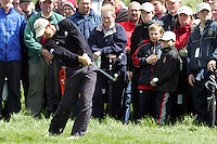 Padraig Harrington on the 5th hole in the third round of the Irish Open on 19th of May 2007 at the Adare Manor Hotel & Golf Resort, Co. Limerick, Ireland. (Photo by Manus O'Reilly/NEWSFILE)