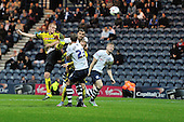 25/08/2015 Capital One Cup, Second Round Preston North End v Watford<br /> Ben Watson heads wide