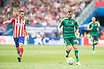 Atletico de Madrid's Koke Resurrecccion and Real Betis's Montoya during BBVA La Liga match. April 02,2016. (ALTERPHOTOS/Borja B.Hojas)