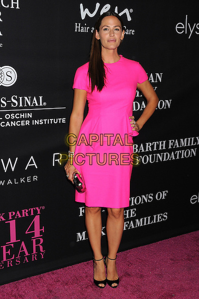 18 October 2014 - Santa Monica, California - Jennifer Garner. Elyse Walker's 10 Year Anniversary Pink Party held at Santa Monica Airport Hangar 8.  <br /> CAP/ADM/BP<br /> &copy;Byron Purvis/AdMedia/Capital Pictures