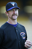 Arizona Diamondbacks coach Robin Yount before a 2002 MLB season game against the Los Angeles Dodgers at Dodger Stadium, in Los Angeles, California. (Larry Goren/Four Seam Images)