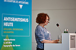 2.7.2015, Berlin Topographie des Terrors. NEBA-Konferenz Antisemitismus heute. Anette Kahane