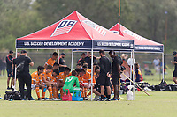 LAKEWOOD RANCH, FL - December 4, 2017: The 2017 Development Academy Winter Showcase at Premier Sports Campus.