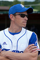 21 June 2011: Team Manager of France Fabien Proust is seen during UCLA Alumni 5-3 win over France, at the 2011 Prague Baseball Week, in Prague, Czech Republic.