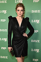 "LOS ANGELES - FEBRUARY 27: Sarah Bolger attends the red carpet premiere event for FXX's ""Dave"" at the Directors Guild of America on February 27, 2020 in Los Angeles, California. (Photo by Frank Micelotta/FX Networks/PictureGroup)"