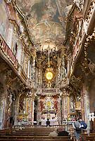 Deutschland, Bayern, Oberbayern, Muenchen: Asam Kirche von 1733, Sendlinger Strasse, barock  | Germany, Bavaria, Upper Bavaria, Munich: Asam Church from 1733, Sendlinger Street, baroque