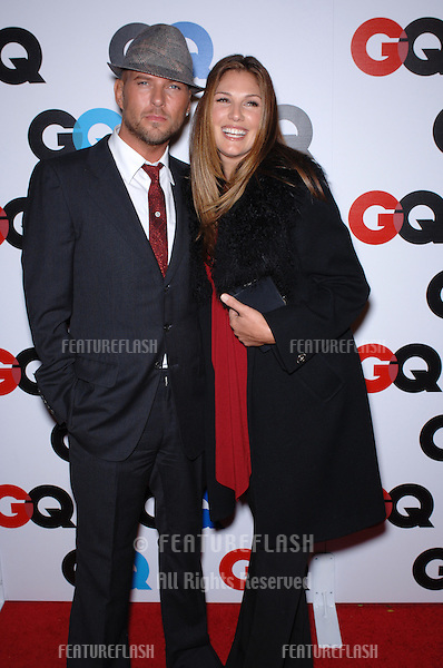 TV presenter DAISY FUENTES & fiancé former Bros star MATT GOSS at GQ Magazine's 2005 Men of the Year party in Beverly Hills..December 1, 2005  Beverly Hills, CA..© 2005 Paul Smith / Featureflash