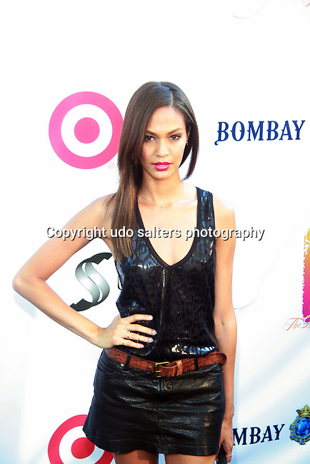 Model Joan Smalls Attends Russell Simmons' 12th Annual Art for Life East Hampton Benefit, NY 7/30/11