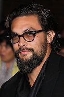 "WESTWOOD, LOS ANGELES, CA, USA - MARCH 18: Jason Momoa at the World Premiere Of Summit Entertainment's ""Divergent"" held at the Regency Bruin Theatre on March 18, 2014 in Westwood, Los Angeles, California, United States. (Photo by Xavier Collin/Celebrity Monitor)"