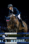 Max Kuhner of Austria riding Cielito Lindo 2 competes in the Maserati Masters Power during the Longines Masters of Hong Kong at AsiaWorld-Expo on 10 February 2018, in Hong Kong, Hong Kong. Photo by Ian Walton / Power Sport Images