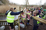 Welsh Water Wateraid lesson.Cog Moors Education Centre.25.01.13.©Steve Pope