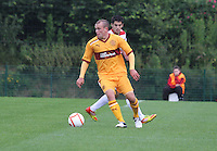 iNicky Law n the Hamilton Academical v Motherwell friendly match played at New Douglas Park, Hamilton on 24.7.12..