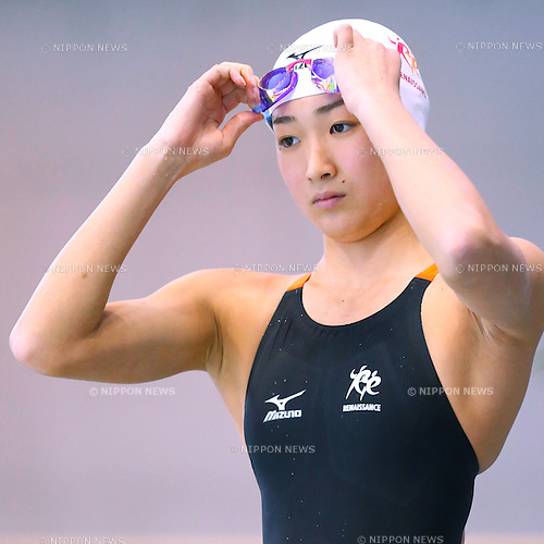 Rikako Ikee, <br /> APRIL 12, 2015 - Swimming : <br /> Japan swimming championship (JAPAN SWIM 2015) <br /> Women's 50m Butterfly heat <br /> at Tatsumi International Swimming Pool in Tokyo, Japan. <br /> (Photo by Sho Tamura/AFLO SPORT) [1180]