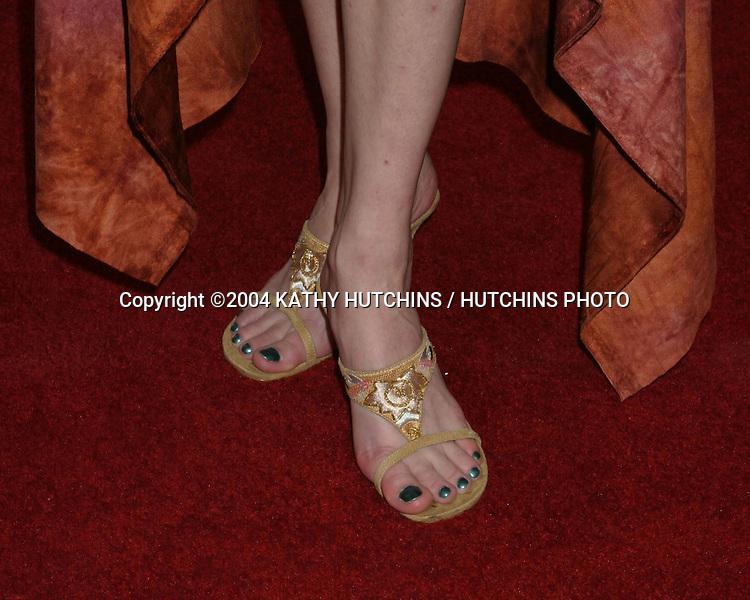 "©2004 KATHY HUTCHINS /HUTCHINS PHOTO.PREMIERE OF ""KILL BILL, VOL 2"".LOS ANGELES, CA.APRIL 8, 2004..LAURA CAYOUETTE"