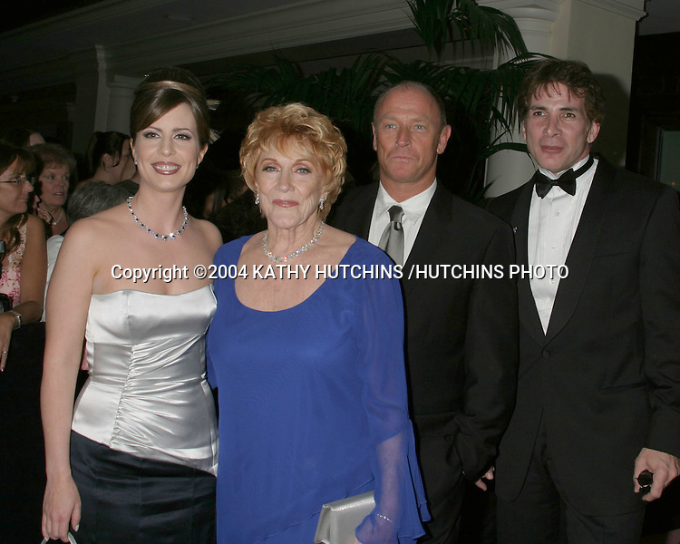 ©2004 KATHY HUTCHINS /HUTCHINS PHOTO.DAYTIME EMMYS.NEW YORK CITY, NY.MAY 21, 2004..MARTHA BYRNE.JEANNE COOPER.CORGIN BERNSEN.MICHAEL GREGORY
