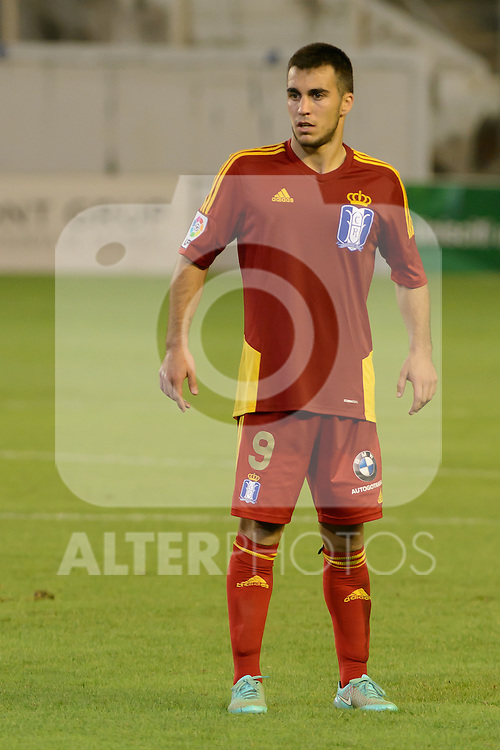 Joselu during the match between Real Betis and Recreativo de Huelva day 10 of the spanish Adelante League 2014-2015 014-2015 played at the Benito Villamarin stadium of Seville. (PHOTO: CARLOS BOUZA / BOUZA PRESS / ALTER PHOTOS)