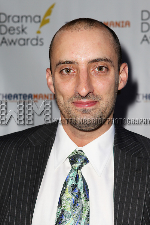 Tom Eden pictured at the 57th Annual Drama Desk Awards held at the The Town Hall in New York City, NY on June 3, 2012. © Walter McBride