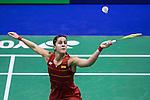 Carolina Marin of Spain vs Yip Pui Yin of Hong Kong during the YONEX-SUNRISE Hong Kong Open Badminton Championships 2016 at the Hong Kong Coliseum on 24 November 2016 in Hong Kong, China. Photo by Marcio Rodrigo Machado / Power Sport Images