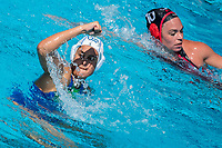 COTTI Aleksandra ITA<br /> ITA (white cap) -  CAN (blue cap)<br /> Water Polo<br /> Day03  16/07/2017 <br /> XVII FINA World Championships Aquatics<br /> Alfred Hajos Complex Margaret Island  <br /> Budapest Hungary July 15th - 30th 2017 <br /> Photo @ Deepbluemedia/Insidefoto