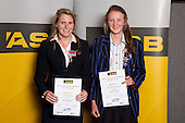 Mountain Biking Girls finalists Charlotte Clouston and Samantha Lane. ASB College Sport Young Sportsperson of the Year Awards held at Eden Park, Auckland, on November 11th 2010.