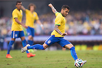 São Paulo, Brazil - Before the World Cup Brazil defeat Serbia 1-0 at the Morumbi Stadium in its final warm-up.