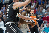 Real Madrid Chasson Randle during Turkish Airlines Euroleague match between Real Madrid and Brose Bamberg at Wizink Center in Madrid, Spain. April 06, 2018. (ALTERPHOTOS/Borja B.Hojas) /NortePhoto.com