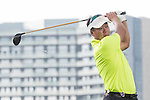Zhao Hongbo plays during the World Celebrity Pro-Am 2016 Mission Hills China Golf Tournament on 23 October 2016, in Haikou, Hainan province, China. Photo by Weixiang Lim / Power Sport Images