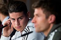 Bayern Múnich press conference.