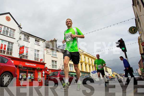 Ollie O'Sullivan pictured at the Rose of Tralee International 10k Race in Tralee on Sunday.