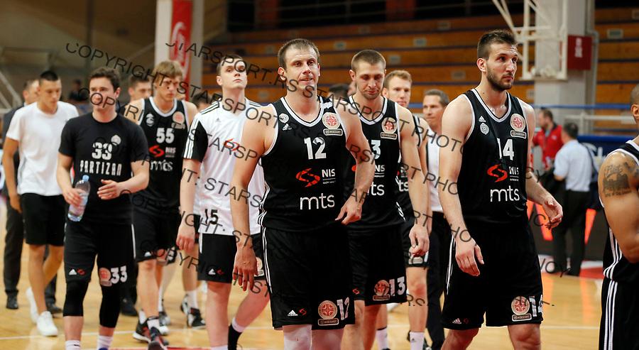 Novica Velickovic  KLS Kosakraska liga Srbije,  FMP - Partizan polu finale 9.6.1017. JUN  9. 2017. (credit image & photo: Pedja Milosavljevic / STARSPORT)