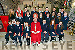 Confirmation class from Ardfert NS who made their confirmation on Tuesday in St Brendan's Church,Ardfert, by the Bishop of Kerry Ray Browne with class teacher Lisa Sheehan and PP Fr. Fr Liam Comer